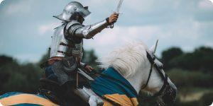Knigh on horseback 300x150 - Knigh on horseback