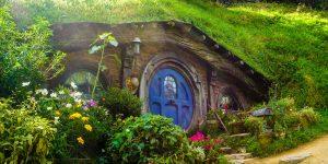 House Under Grass